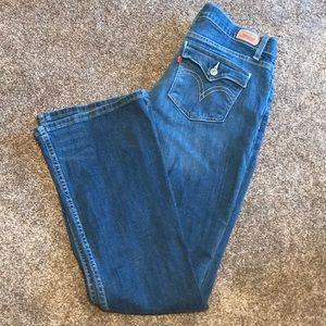 Levis Too SUPERLOW 524 Jeans Sz 11
